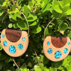 Blue Grotto Earrings By Joe