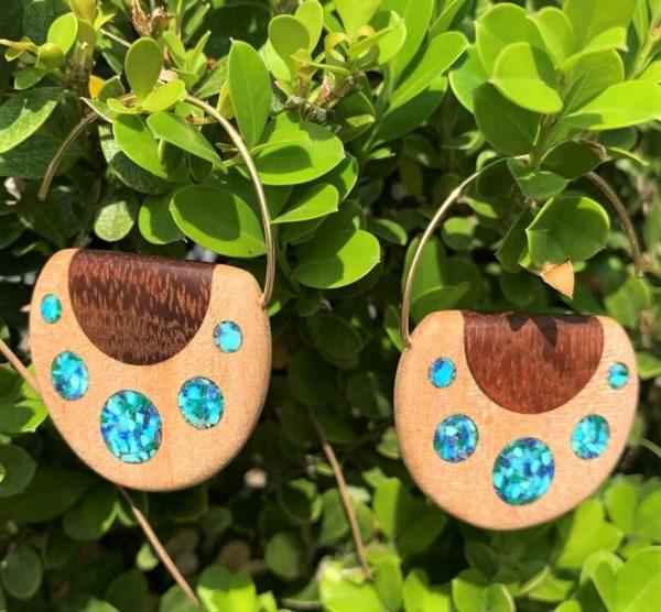 Blue Grotto Earrings By Joe