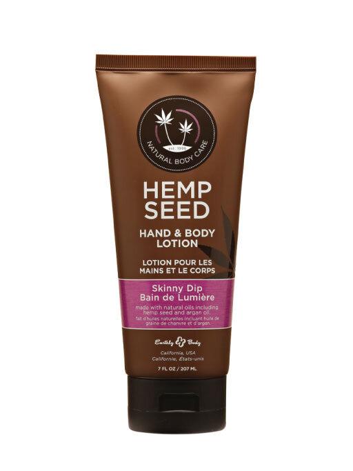 Earthly Body Hemp Seed Hand & Body Lotion – Skinny Dip 7oz