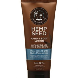 Earthly Body Hemp Seed Hand & Body Lotion –Moroccan Nights 7oz