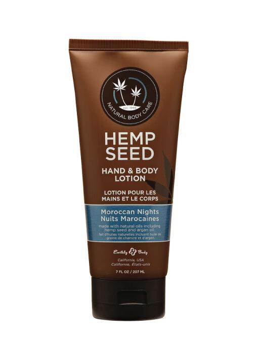 Earthly Body Hemp Seed Hand & Body Lotion –Moroccan Nights 7oz