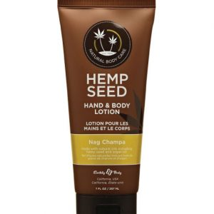Earthly Body Hemp Seed Hand & Body Lotion – Nag Champa 7oz
