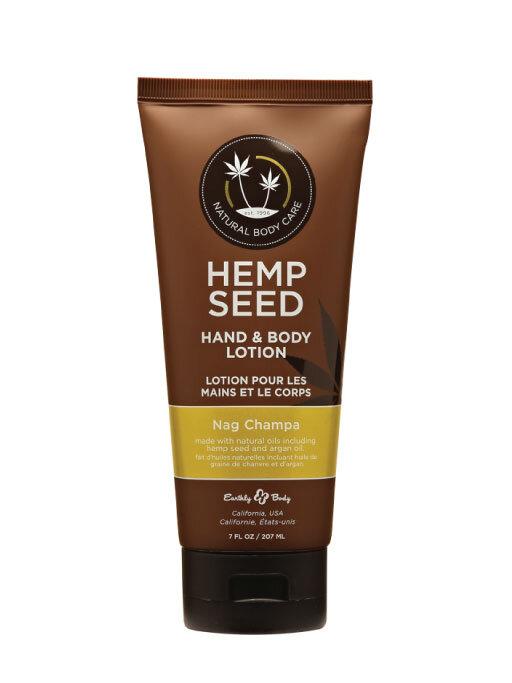 Earthly Body Hemp Seed Hand & Body Lotion – Nag Champa 7oz