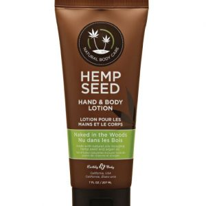 Earthly Body Hemp Seed Hand & Body Lotion – Naked in the Woods  7oz
