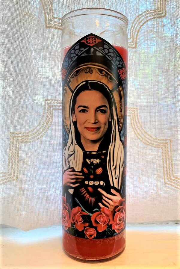 Icon Candle-Alexandria Ocasio-Cortez