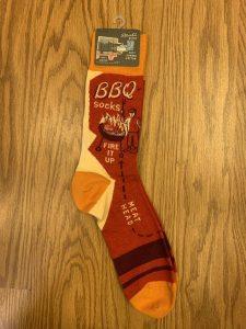 BBQ -Fire It Up Men's Socks