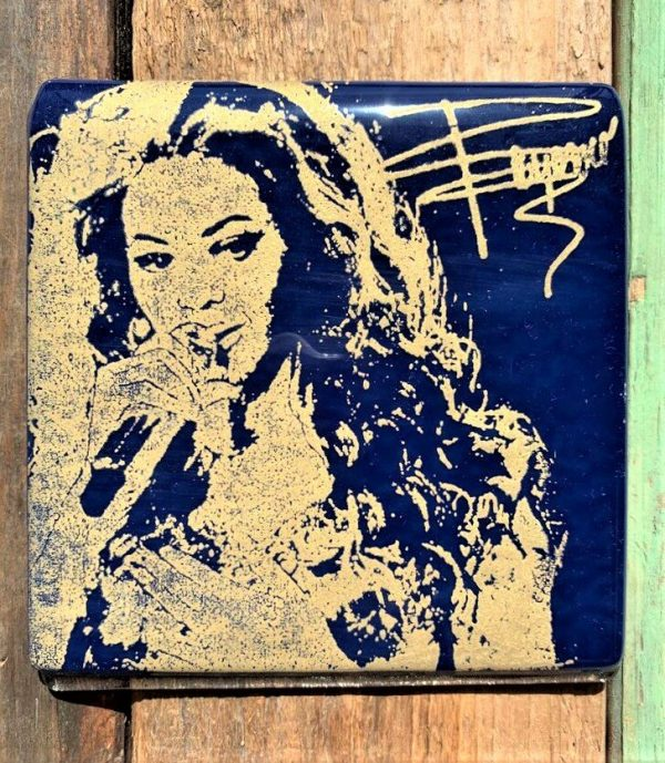 Beyonce Single Glass Coaster