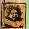 Jerry Garcia Single Glass Coaster