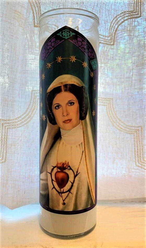 Icon Candle- Princess Leia