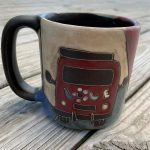 Peace, Love and VW- Stoneware By Mara Mug