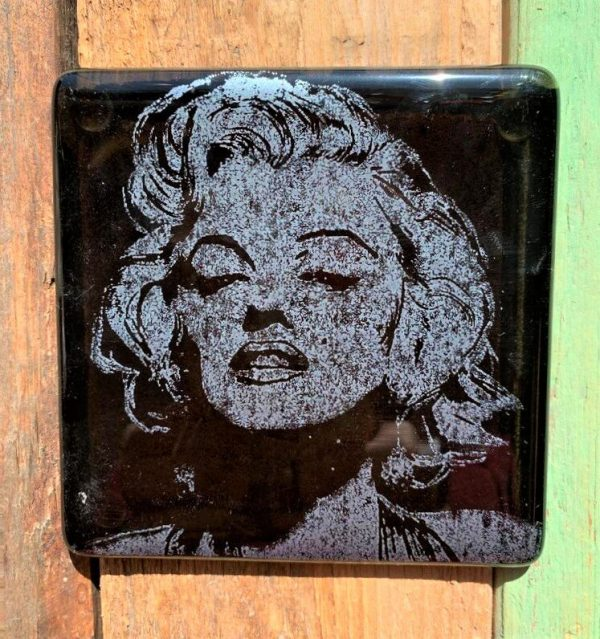 Marilyn Monroe Single Glass Coaster