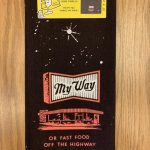 My Way...Or The Highway Printed Cotton Dish Towel