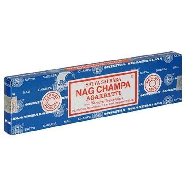 Nag Champa Incense Sticks 100g Box
