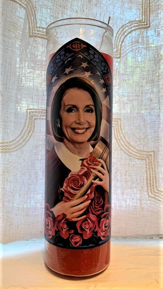 Icon Candle- Nancy Pelosi