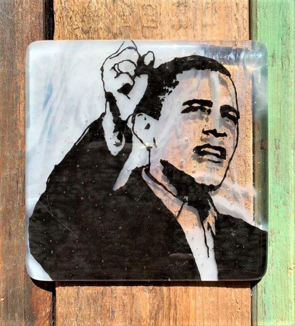 Barack Obama Single Coaster