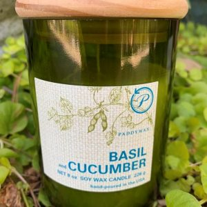 Paddywax Eco Green Candle- Basil & Cucumber