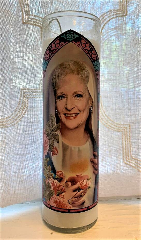 Golden Girls Icon Candle- Rose Nylund