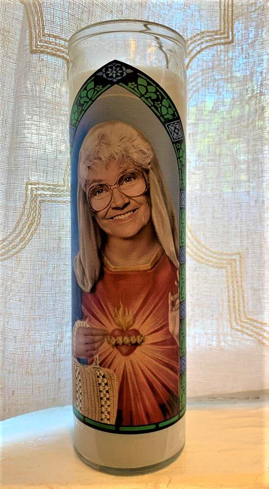 Golden Girls Icon Candle- Sophia Petrillo