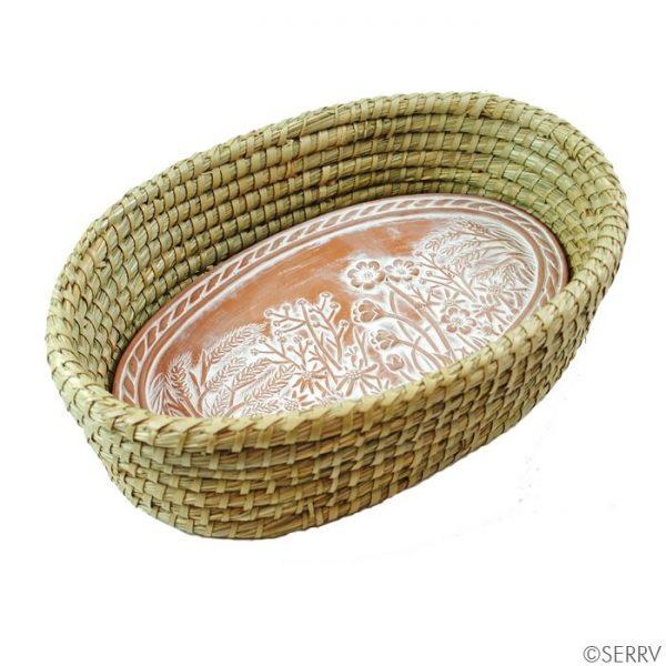 Spring Meadow Bread Warmer Basket