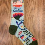 Stop Talking Ladies' Crew Socks
