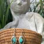 Gorgeous Turquoise and Sterling Silver Earrings