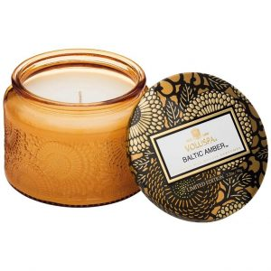 Voluspa Baltic Amber Petite Glass Jar Candle