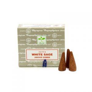Satya White Sage Cone Incense