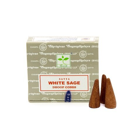 Satya White Sage Cone Incense