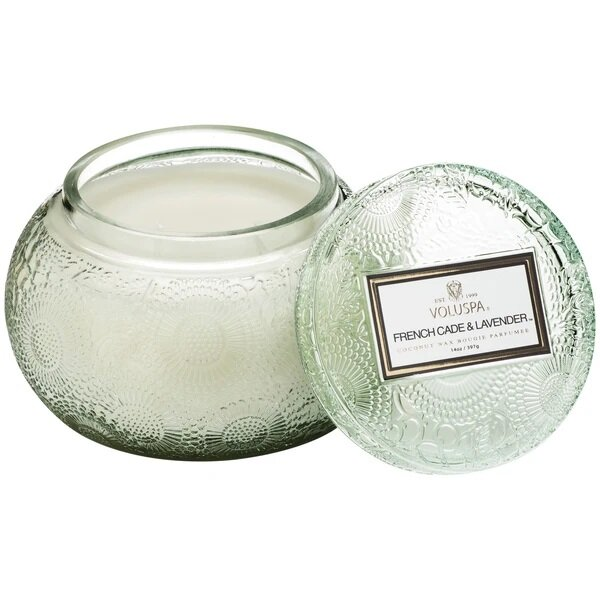 Voluspa French Cade and Lavender Chawan Bowl Candle