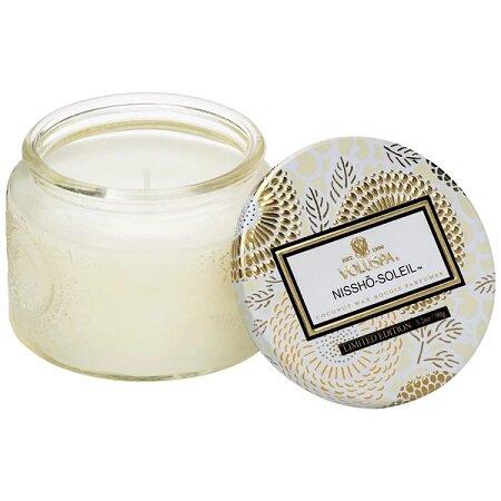 Nissho Soleil Petite Glass Jar Candle