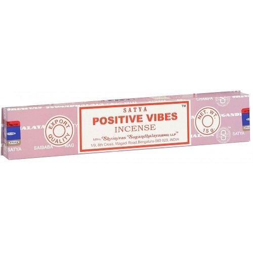 Satya Positive Vibes Incense Sticks 15g Box