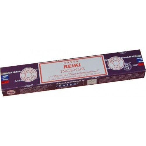 Satya Reiki Incense Sticks 15g Box