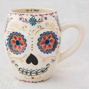 Sugar Skull Folk Mug