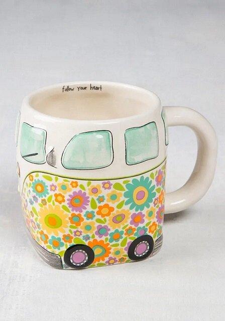 Follow Your Heart Van Folk Mug