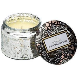 Voluspa Yashioka Gardenia Petite Glass Jar Candle